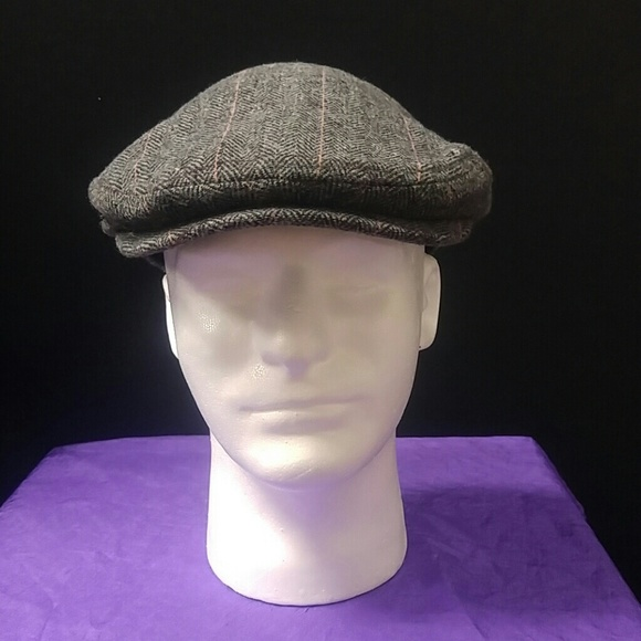 835fab2a3a8 IVY CAP HERRINGBONE COLLECTION GREY